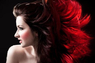 Schöne Haare mit Pflege