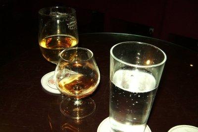 Guten Cognac erkennt man am Alter.