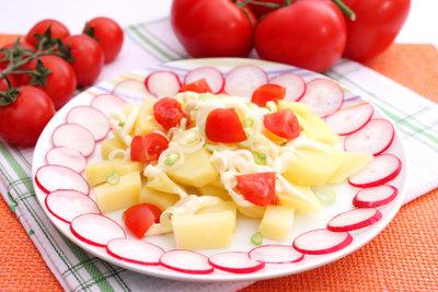 Radieschen - Gemüse für die Dekoration