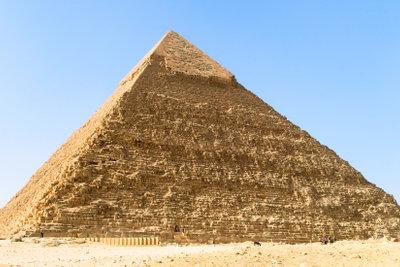 Das Sinnbild für eine Pyramide