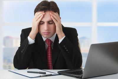 Stress bei der Arbeit sollten Sie sehr ernst nehmen.