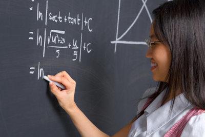 Für Mathematik braucht es viel Übung.