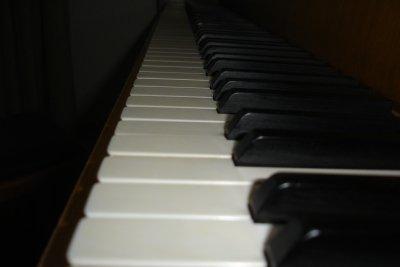 Klaviere können unterschiedlich viele Tasten haben.
