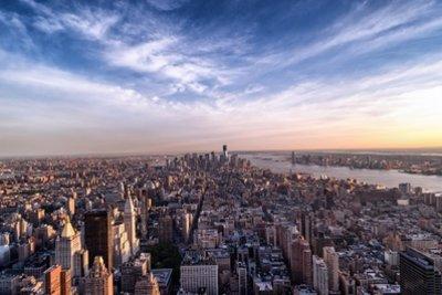 Straßenschluchten von New York