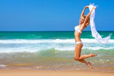 Um einen Bikini zu nähen, benötigen Sie schon etwas Erfahrung.