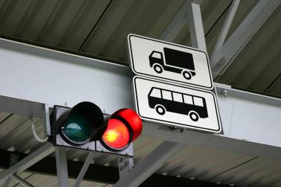 Jeder Halt wird vom Tachograph aufgezeichnet.