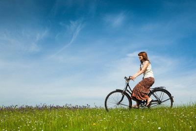 Fahrradfahrer genießen viele Freiheiten.