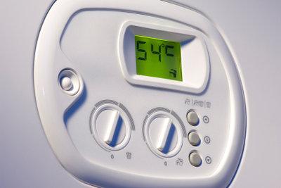 Nach dem Einbauen des neuen Durchlauferhitzers haben Sie meist auch eine Temperatursteuerung.