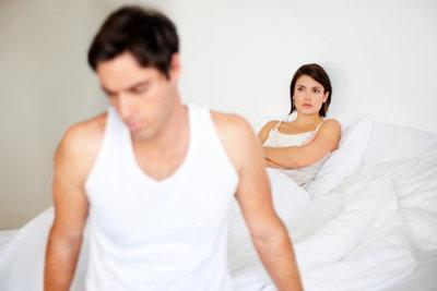 Sexunlust kann für beide Partner zur Belastung werden.