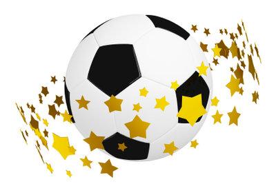 Sterne auf Bundesliga-Trikots stehen für erbrachte Leistungen.
