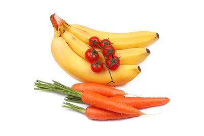 Gehen Sie doch als Karotte oder Banane!