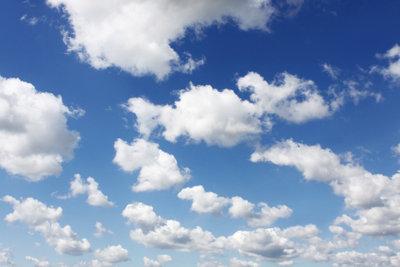 Wie schnell ziehen Wolken vorüber?