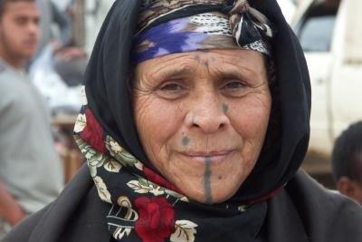 Die Berber sind eine Volksgruppe Ägyptens mit eigener Sprache.