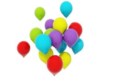 Luftballons gehören auf vielen Hochzeiten dazu.