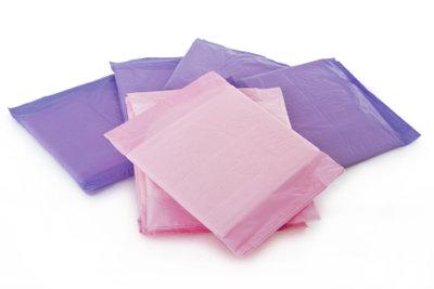 Die Menstruation dauert meist drei bis fünf Tage.