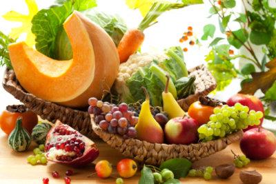 Nicht nur Karotten, auch andere Nahrungsmittel enthalten Carotin.