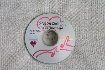 Eine simple CD - aber was für verführerische Dienste sie leisten kann!