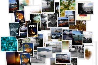 Erschaffen Sie kreative Kunstwerke, indem Sie ein Foto in ein anderes Foto einfügen.