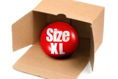 Sperrige Güter können Sie bei DHL als Maxitransport verschicken.