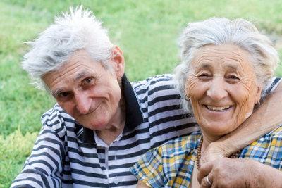 Die große Liebe bis ins Alter pflegen.