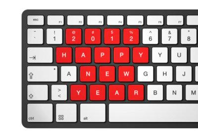Über die Tastatur Zahlen hochstellen.