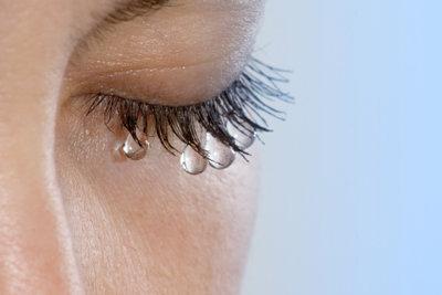 Tränen sind etwas ganz Natürliches.