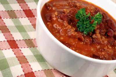 Servieren Sie zum Beispiel Chili con Carne als Hauptgang.