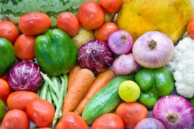 Essen Sie mehr Obst und Gemüse.