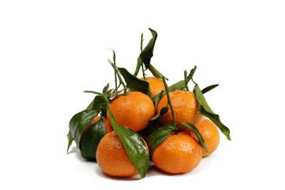 Leckere, gesunde Mandarinen