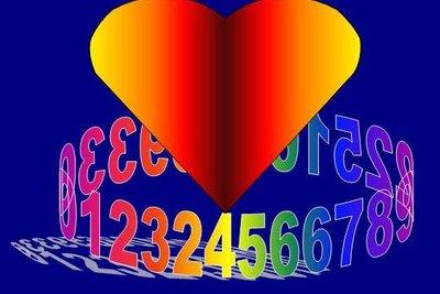 So zeigen Sie die Liebe zu Zahlen.