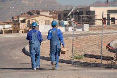 Auslöse erhalten Arbeitnehmer auf Montage.