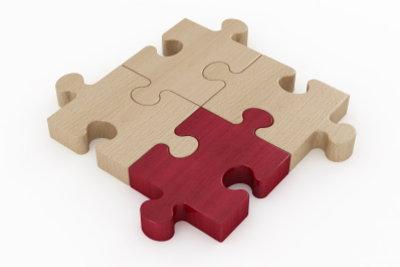 Holz ist ein tolles Material, um Puzzle selbst zu gestalten.