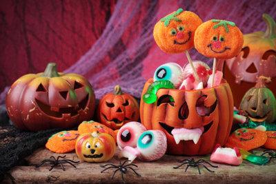 Auch kleine Kinder können an Halloween schon ihren Spaß haben.