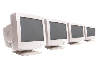 So verwenden Sie vier Monitore gleichzeitig.
