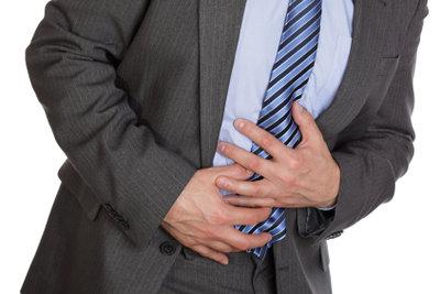 Bauchschmerzen durch Helicobacter.