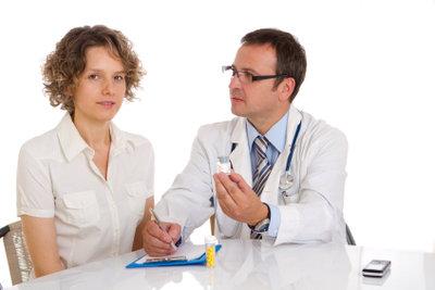 Der Arztbesuch ist unumgänglich.