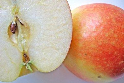 Obst kann auch interessant geschnitten werden.