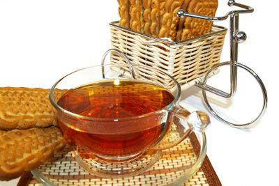 Tee schmeckt auch aus der Senseo.