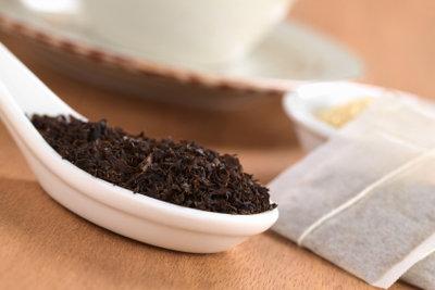 Tee sollte luftdicht aufbewahrt werden.