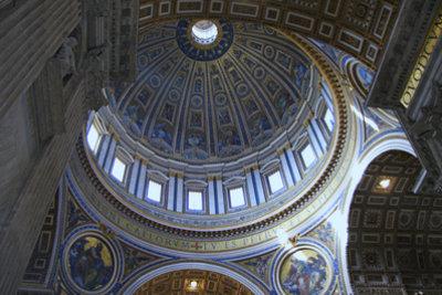 Kuppel des Petersdom.