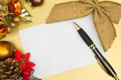 Weihnachtsgrüße an den Chef erfordern Fingerspitzengefühl.