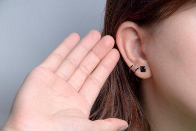 Beim Ohrring oben sollten Sie einiges beachten.