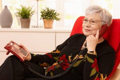 Mit einer Flatrate können Sie unbegrenzt telefonieren.