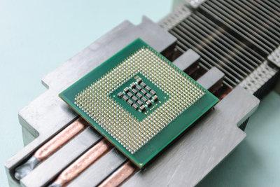 Die CPU ist das Computer-Herzstück.