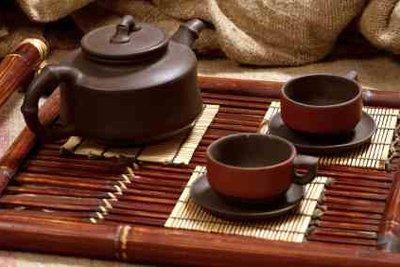 Die Chinesen trinken Tee aus den Blättern des Unsterblichkeitskrauts.