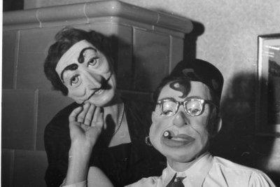 Maske drauf und schon sind Sie jemand anders.