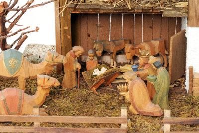 Es müssen nicht immer Holzfiguren sein.