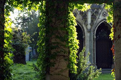 Ein Gothic liebt mystische und düstere Orte.