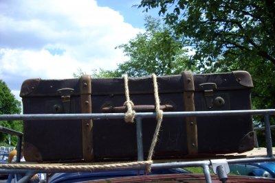 Einfacher als der Koffer lässt sich die Dachbox beladen.