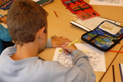Kreativität spielt wichtige Rolle an Waldorfschulen.